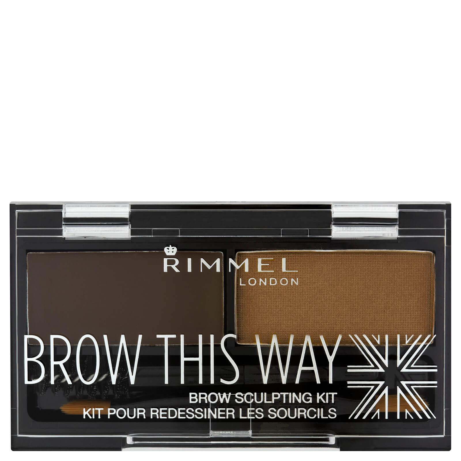 Rimmel Brow This Way Eyebrow Kit Dark Brown