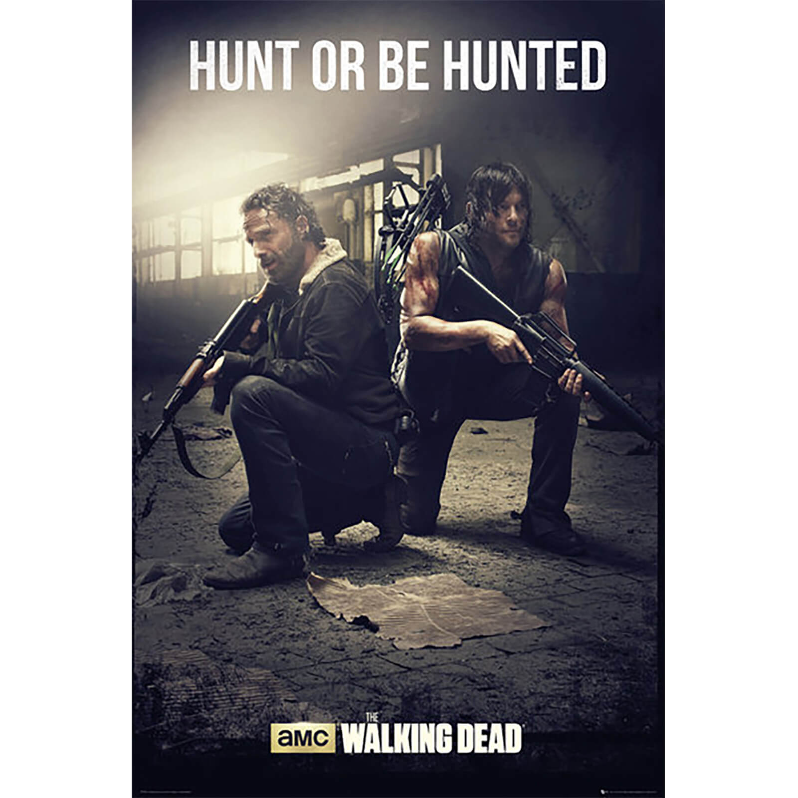 The Walking Dead Hunt - Maxi Poster - 61 x 91.5cm