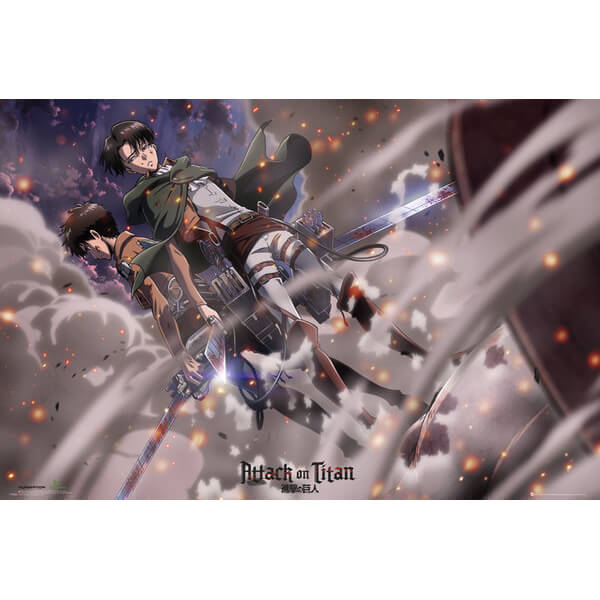 Attack on Titan Battle - Maxi Poster - 61 x 91.5cm