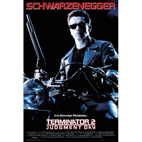 Terminator 2 One Sheet - Maxi Poster - 61 x 91.5cm