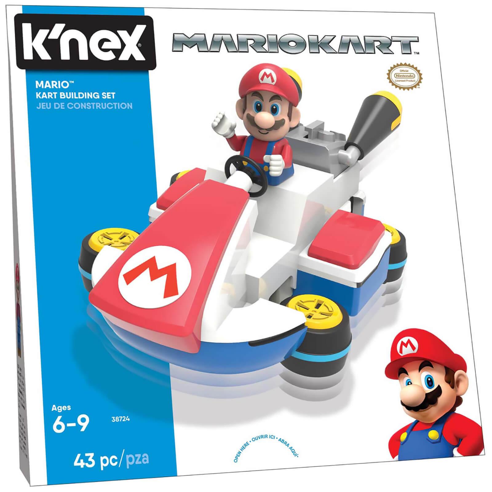 K'NEX Mario Kart: Mario Kart Building Set (38724) Toys ...