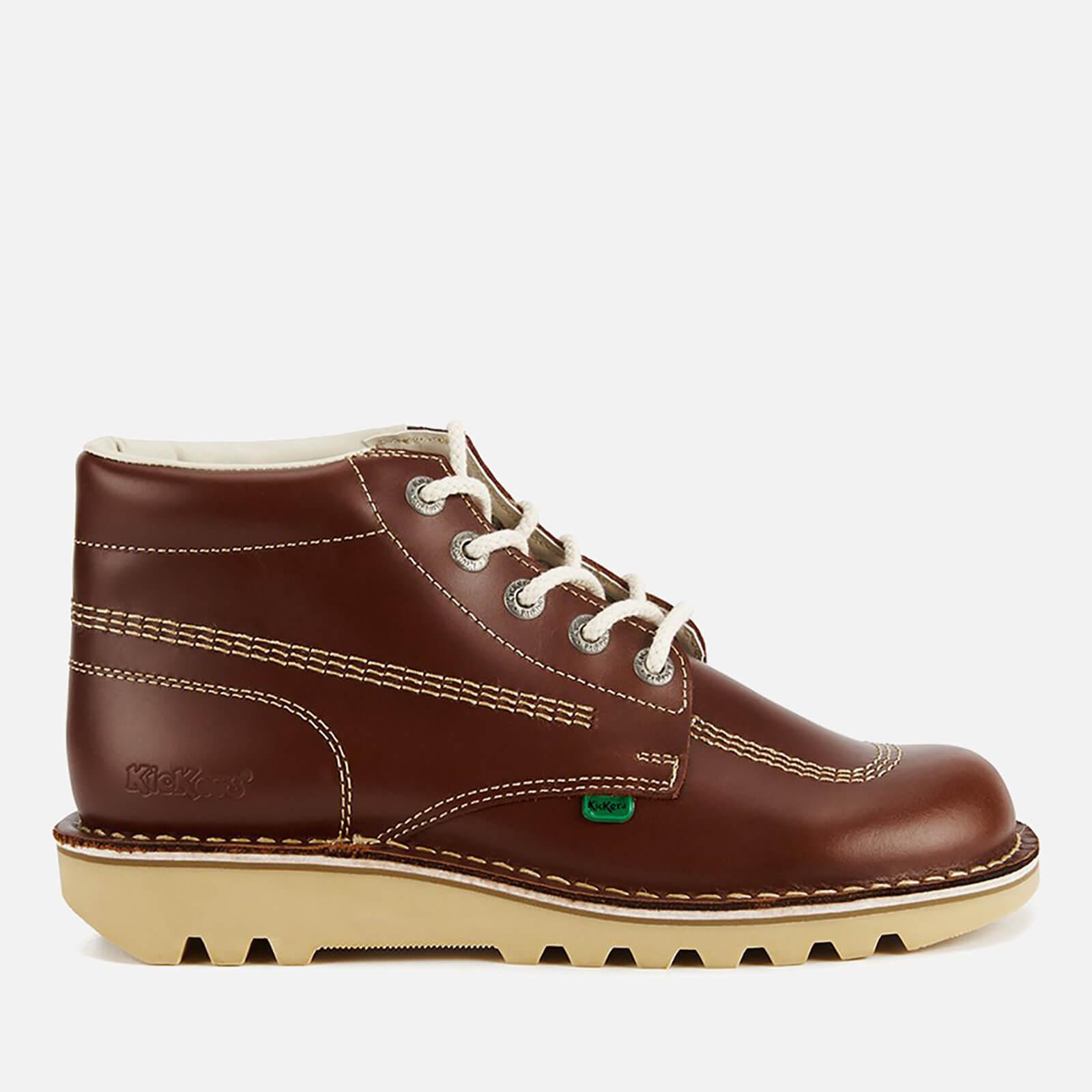 de7dc418bb Kickers Men s Kick Hi Leather Boots - Dark Tan Mens Footwear ...