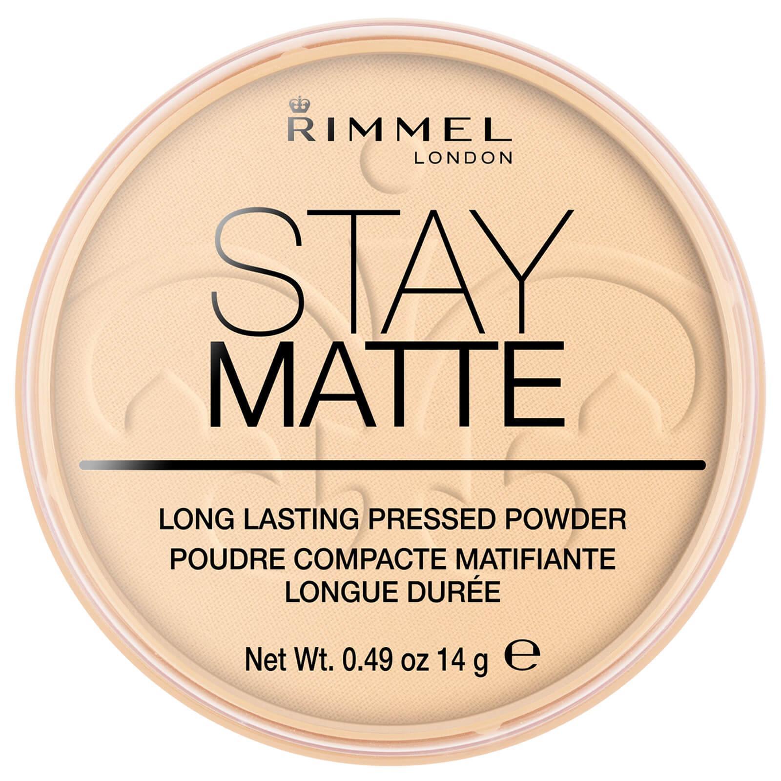 code de promo performance fiable profiter de prix pas cher Rimmel Stay Matte Pressed Powder - Transparent