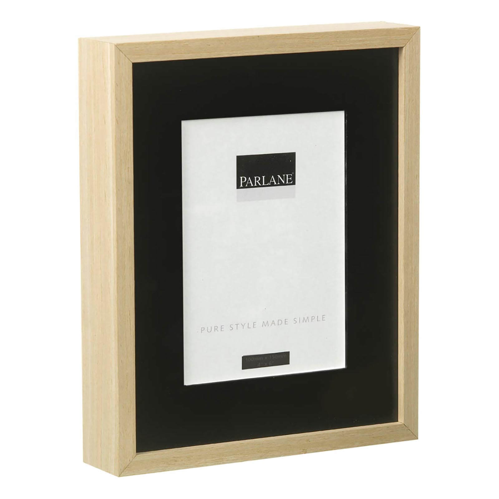 Parlane Solna Frame - Black/Natural (270x220mm)