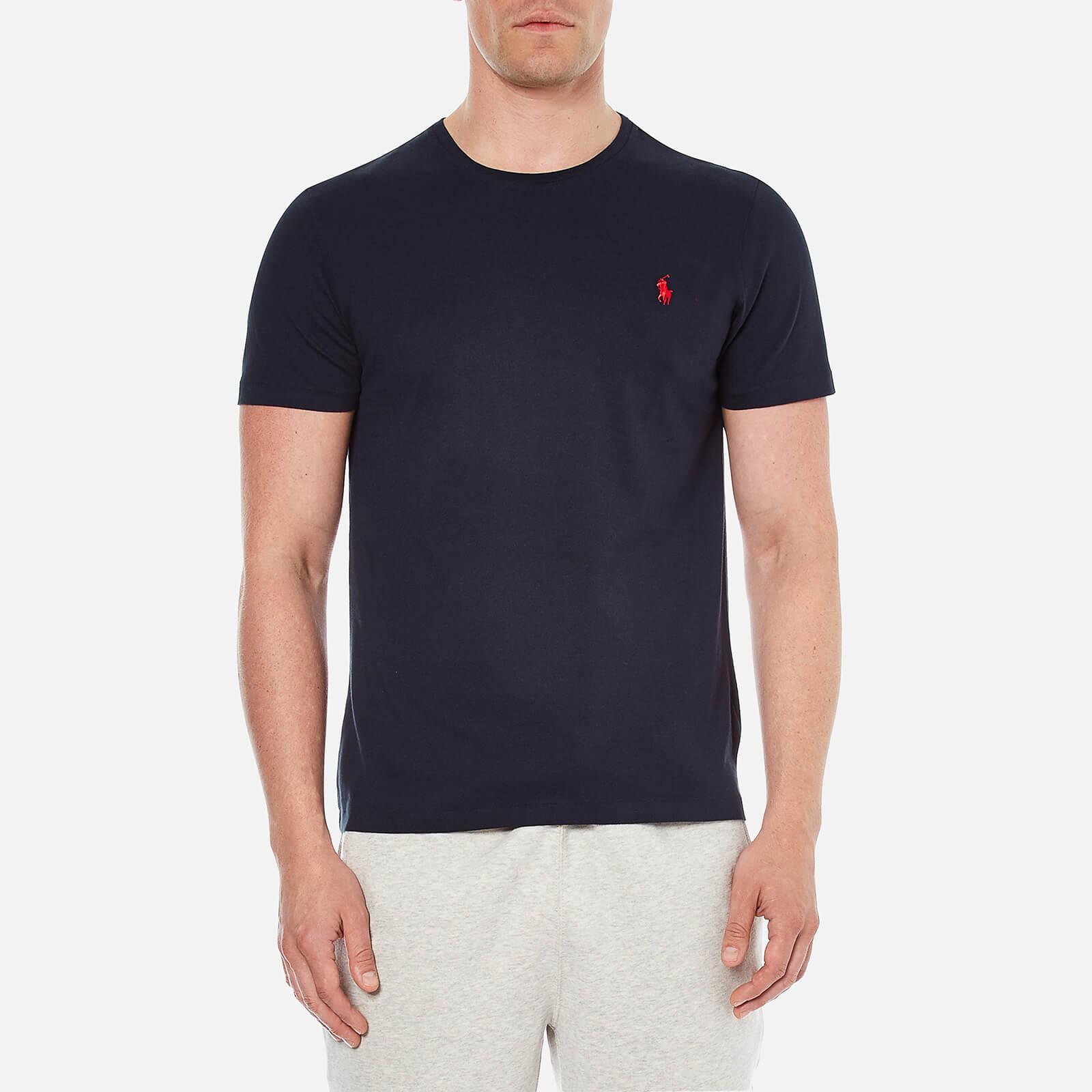 d7f84d94 Polo Ralph Lauren Men's Short Sleeved Crew Neck T-Shirt - Ink - Free UK  Delivery over £50