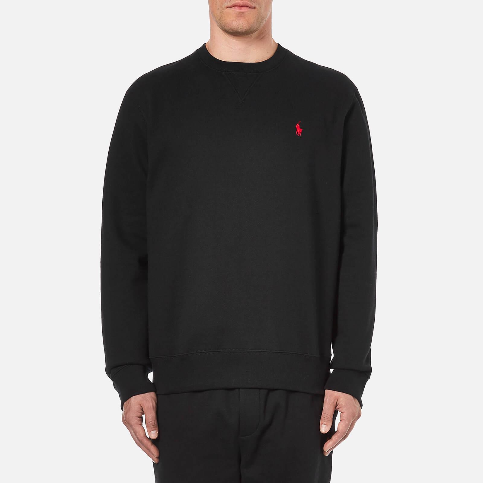 6a5aba302 Polo Ralph Lauren Men's Long Sleeve Crew Neck Sweatshirt - Polo Black -  Free UK Delivery over £50
