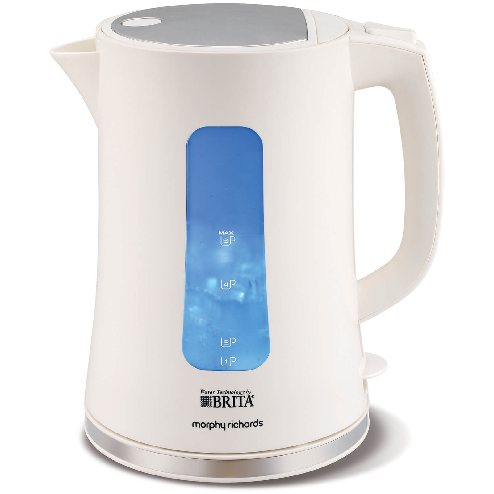 Morphy Richards 120004 Brita Accents Water Filter Kettle - White
