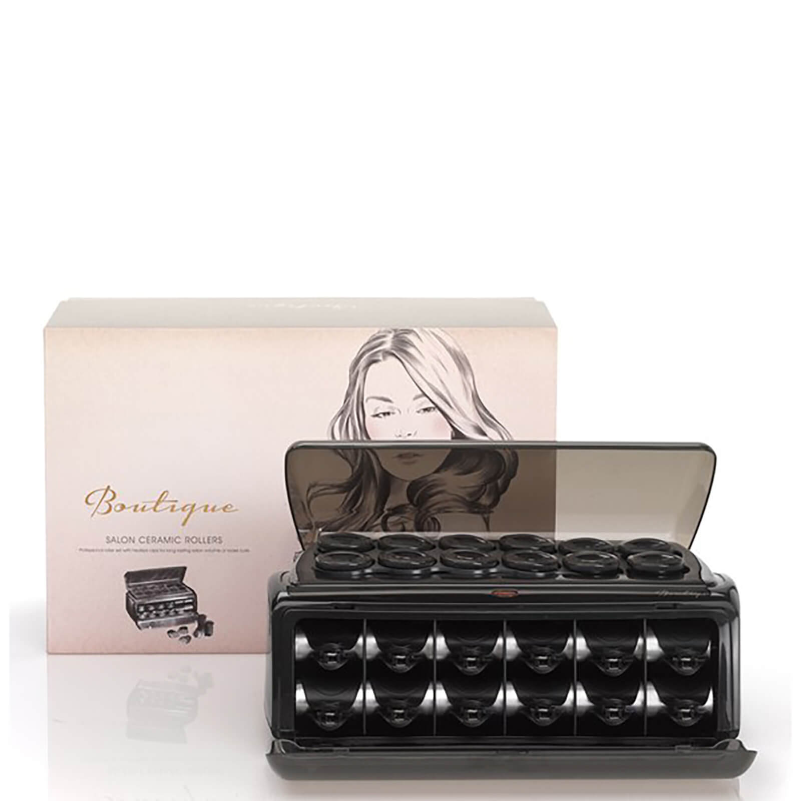 BaByliss Boutique Hair Rollers - Black  fad090a952