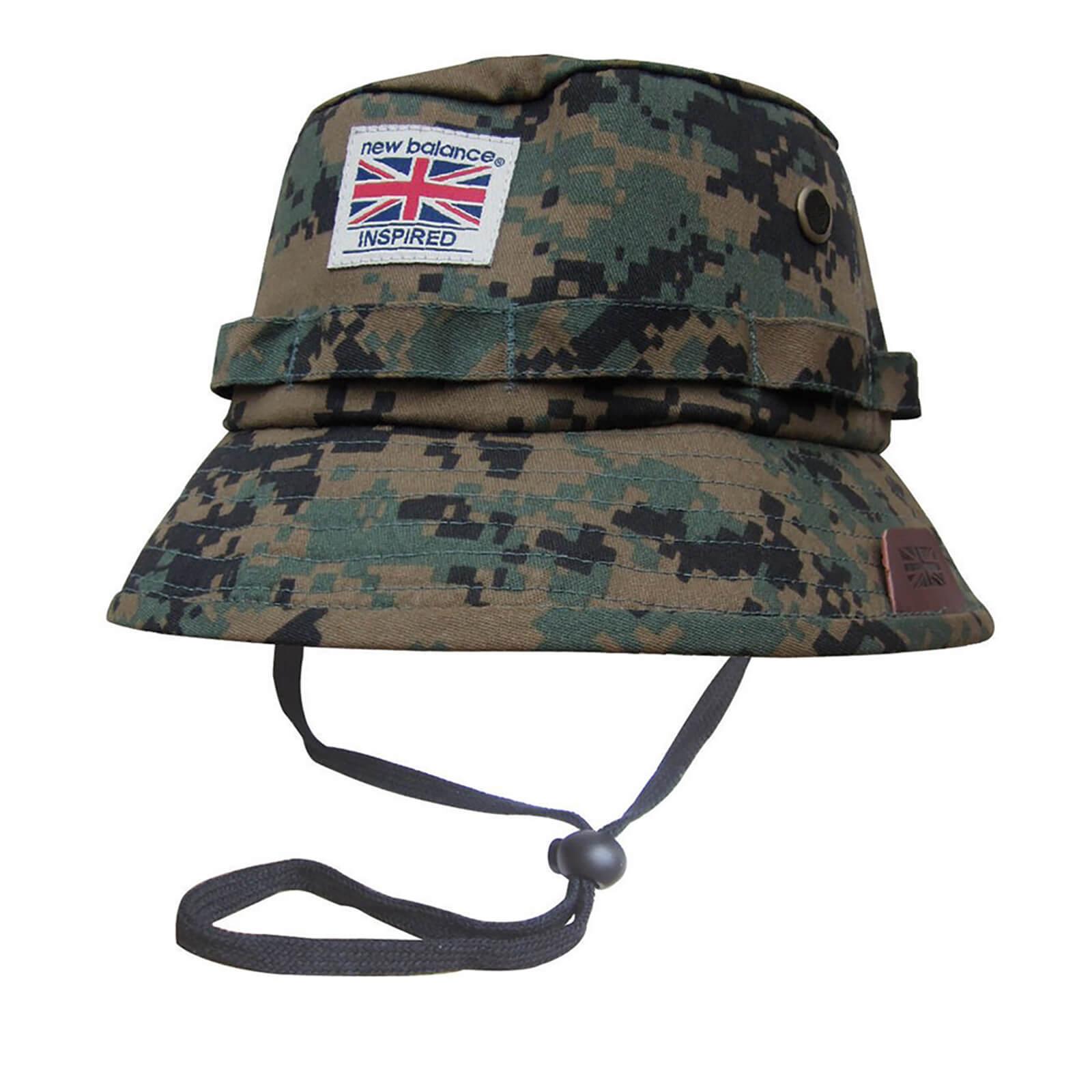 3ae02dca18f New Balance Men s Explorer Bucket Hat - Grey Digital Camo Clothing ...