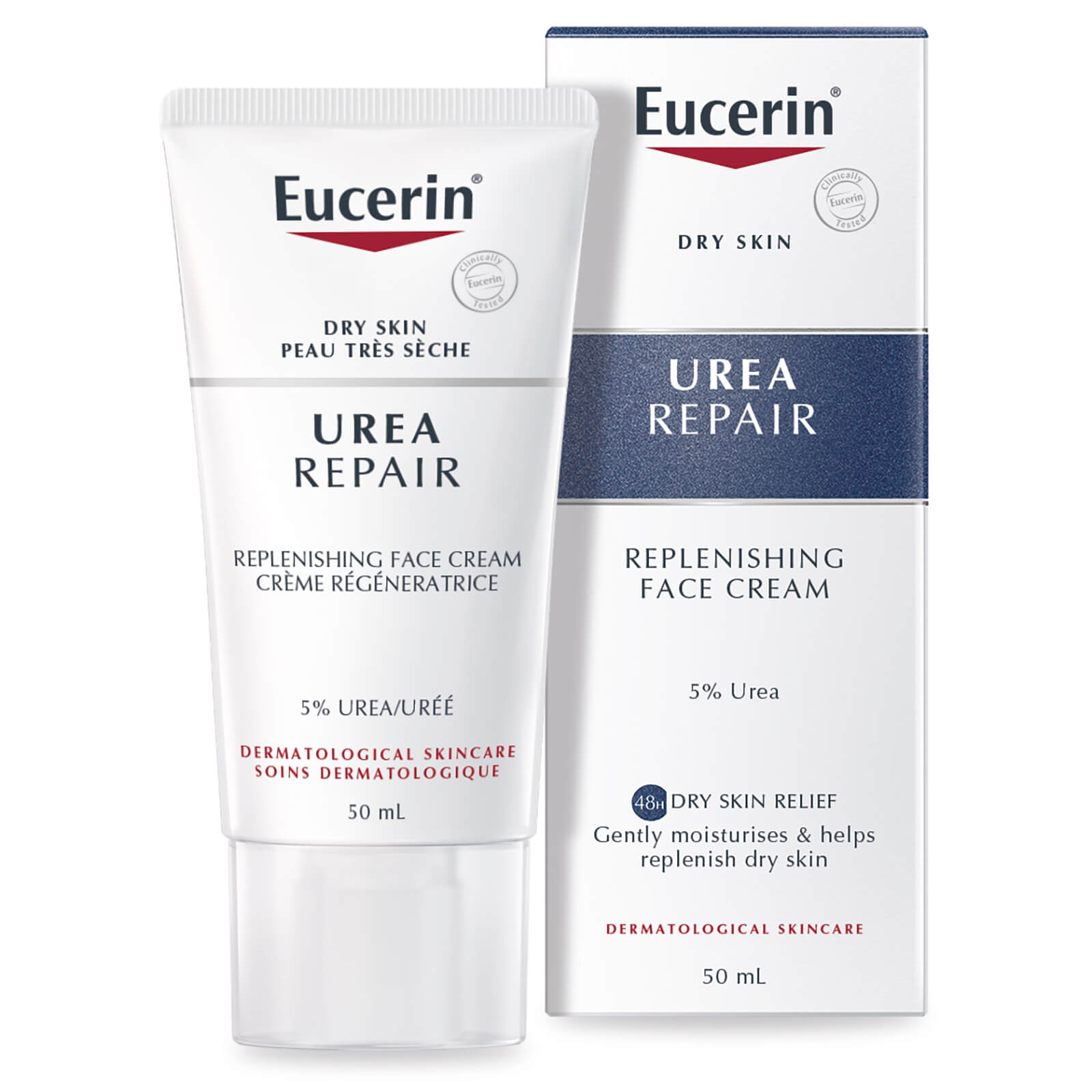 Eucerin Replenishing Face Cream 5% Urea with Lactate </div>                                   </div> </div>       </div>         <div style=
