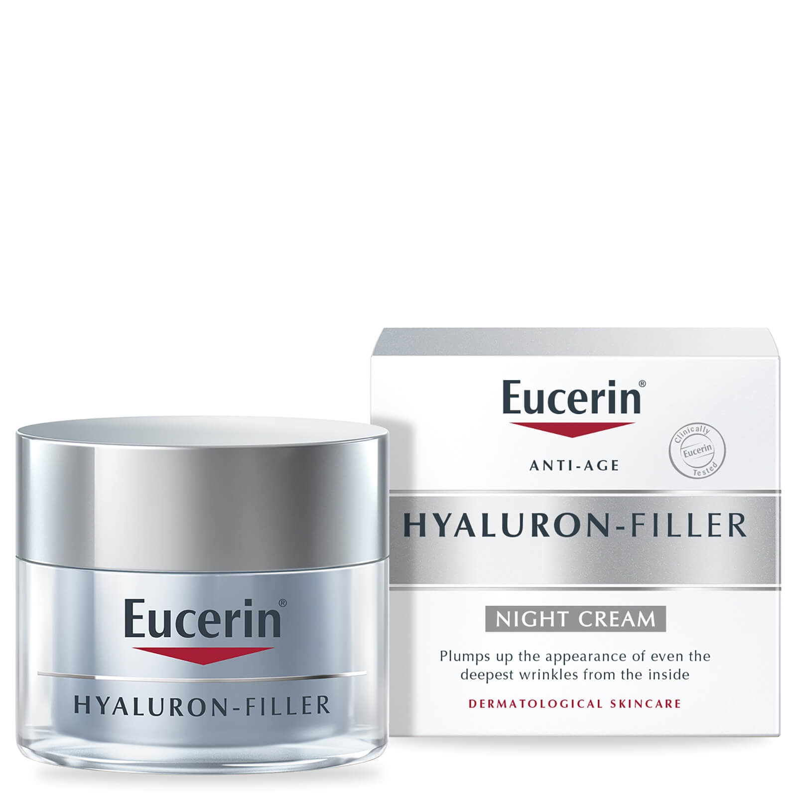 eucerin hyaluron filler night