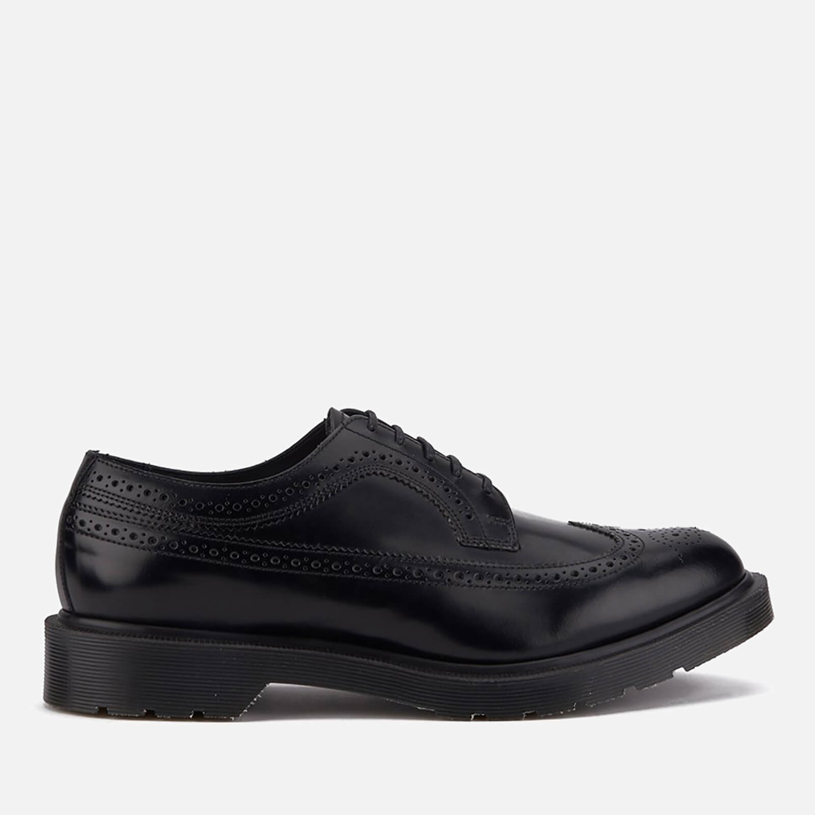 ebb0500fcd414 ... Dr. Martens Men's 'Made in England' 3989 Leather Brogues - Black Boanil  Brush