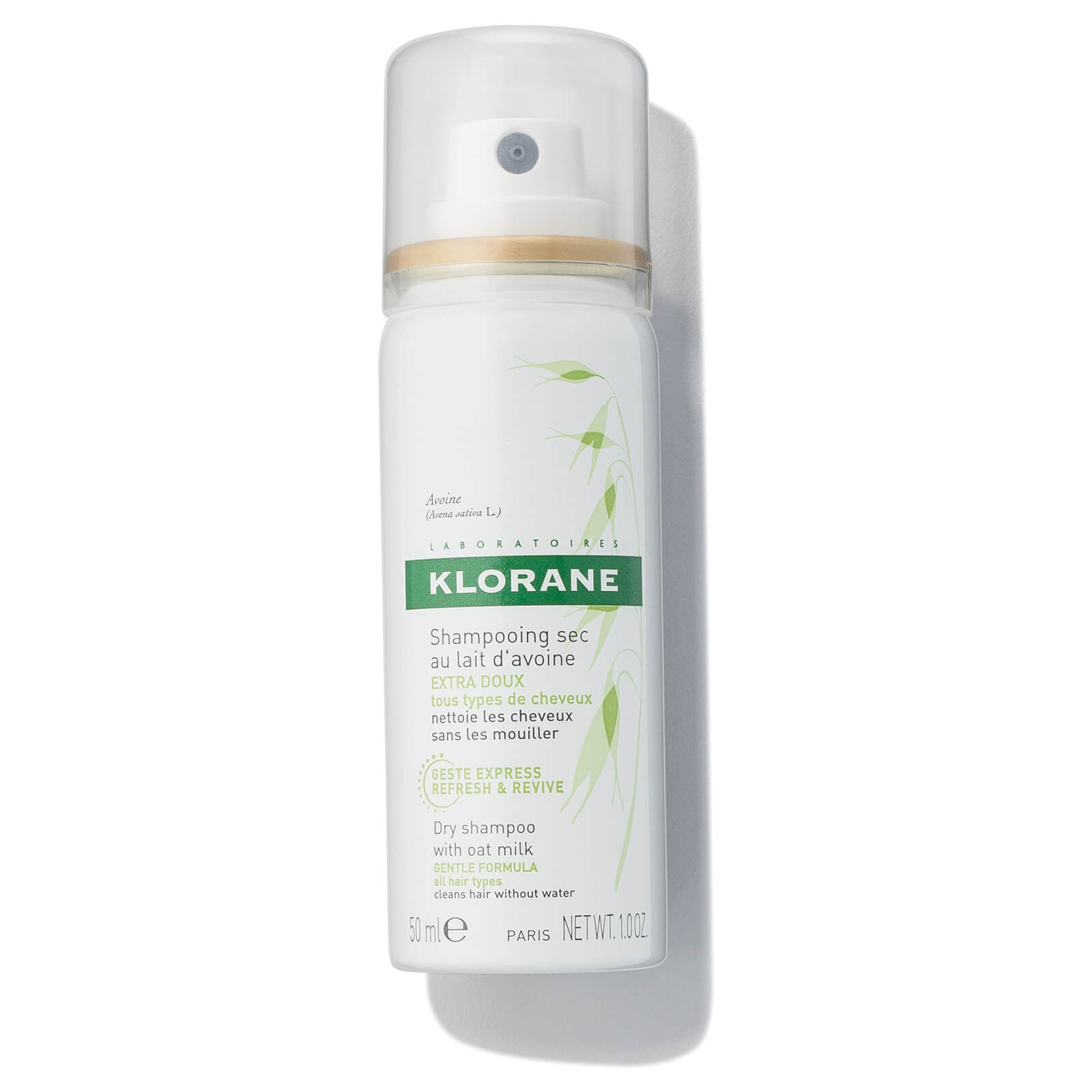 KLORANE Oatmilk Dry Shampoo Spray 1.0oz