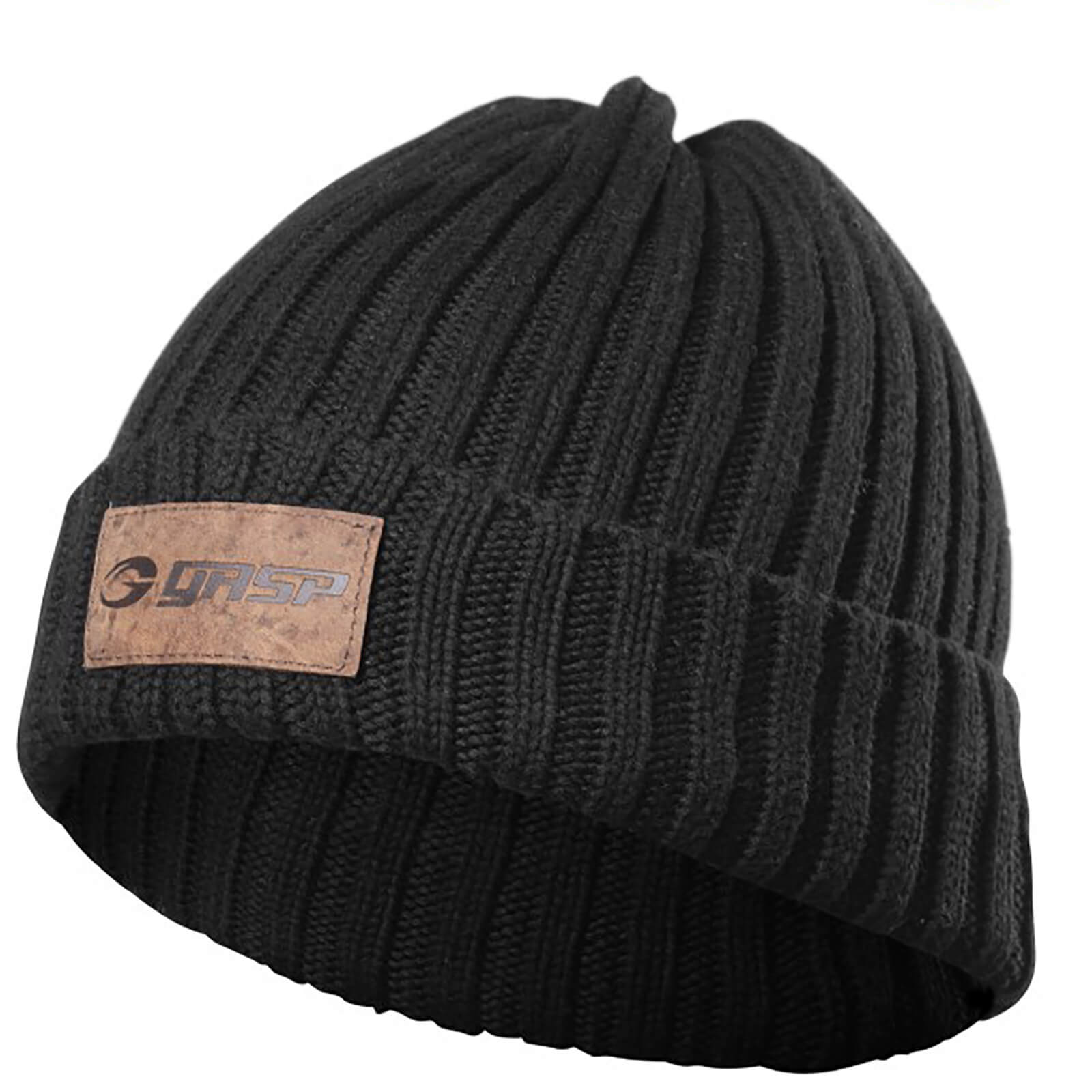 GASP Heavy Knitted Hat - Black
