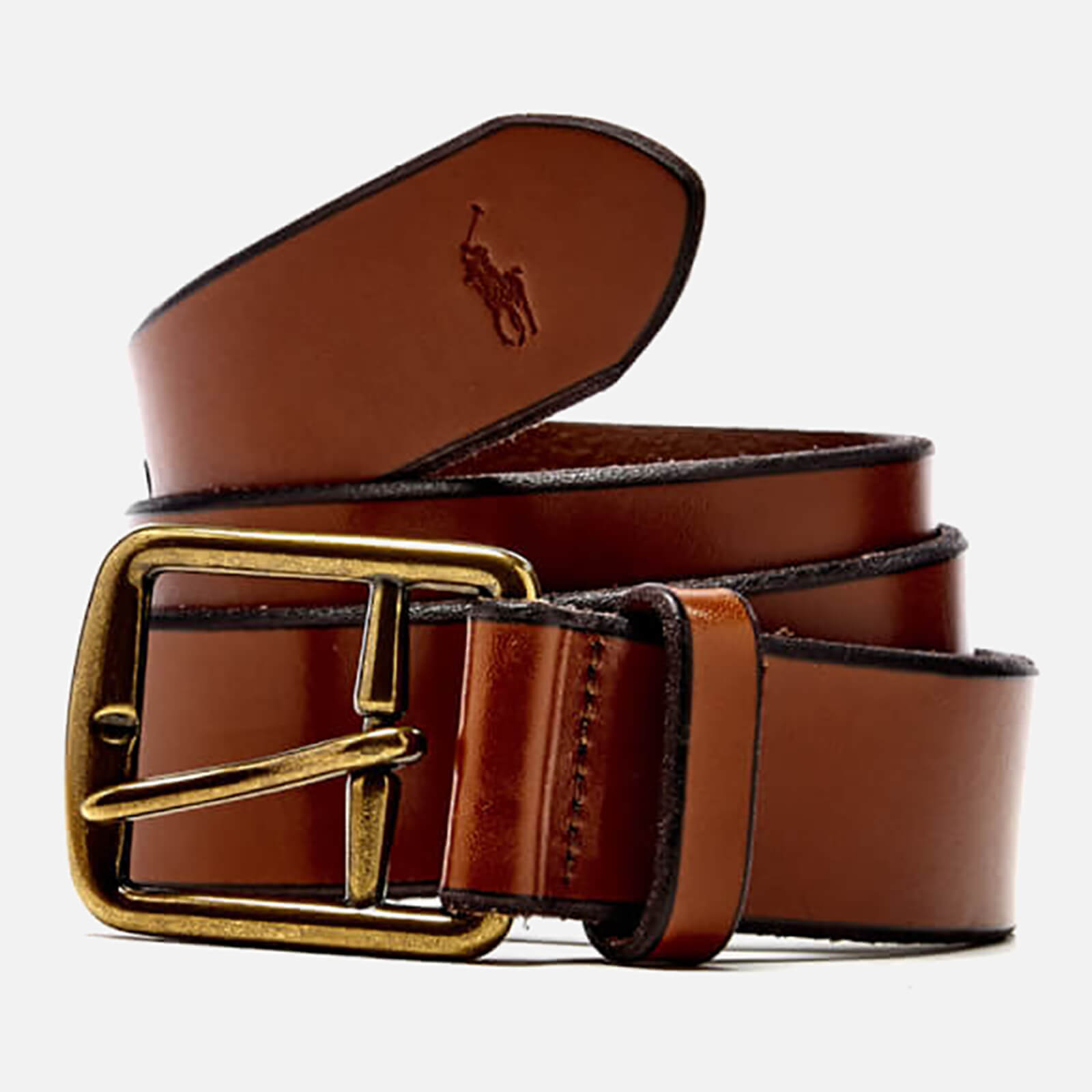 Leather Saddle Ralph Belt Lauren Men's Polo k8wnOX0P