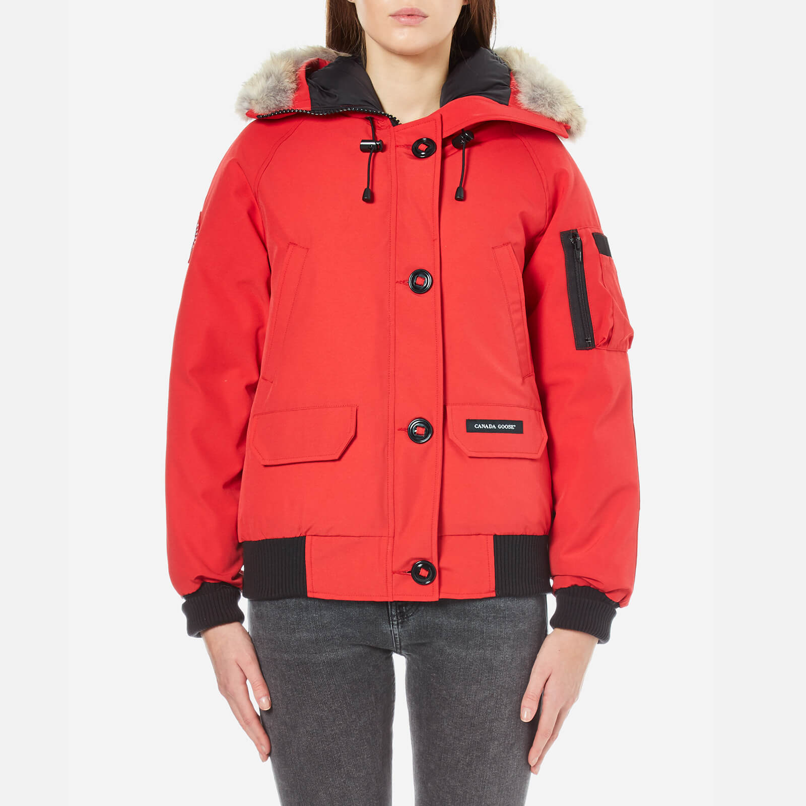 c2ee6bba32a3 Canada Goose Women s Chilliwack Bomber Jacket - Red - Free UK Delivery over  £50