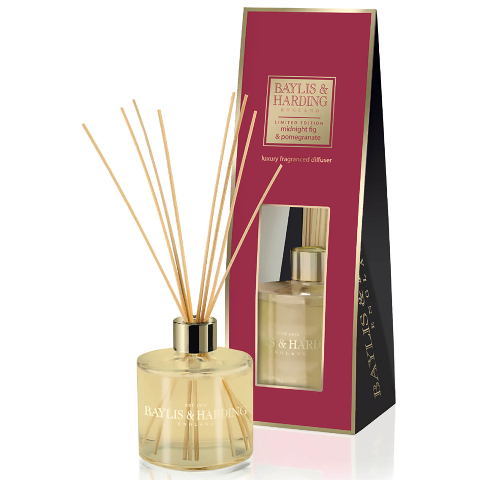 Baylis & Harding Mosaic Midnight Pomegranate and Elderflower Diffuser