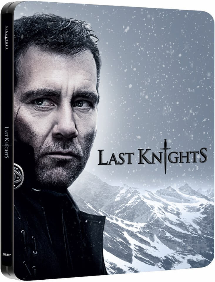 Last Knights Steelbook (UK EDITION)