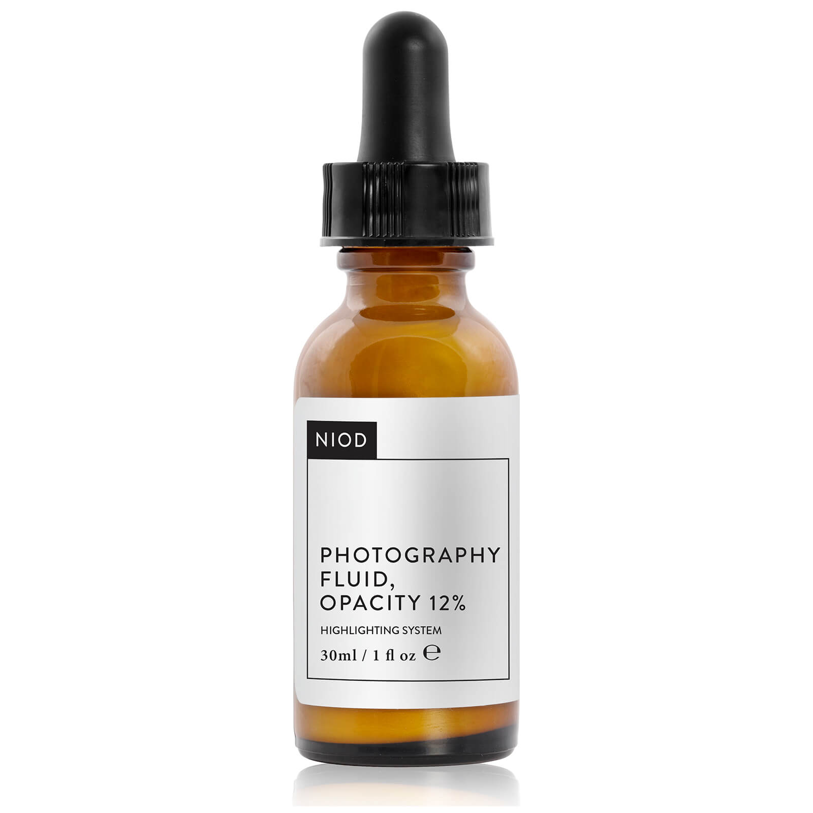 NIOD Photography Fluid, Colourless, Opacity 12% (30ml)