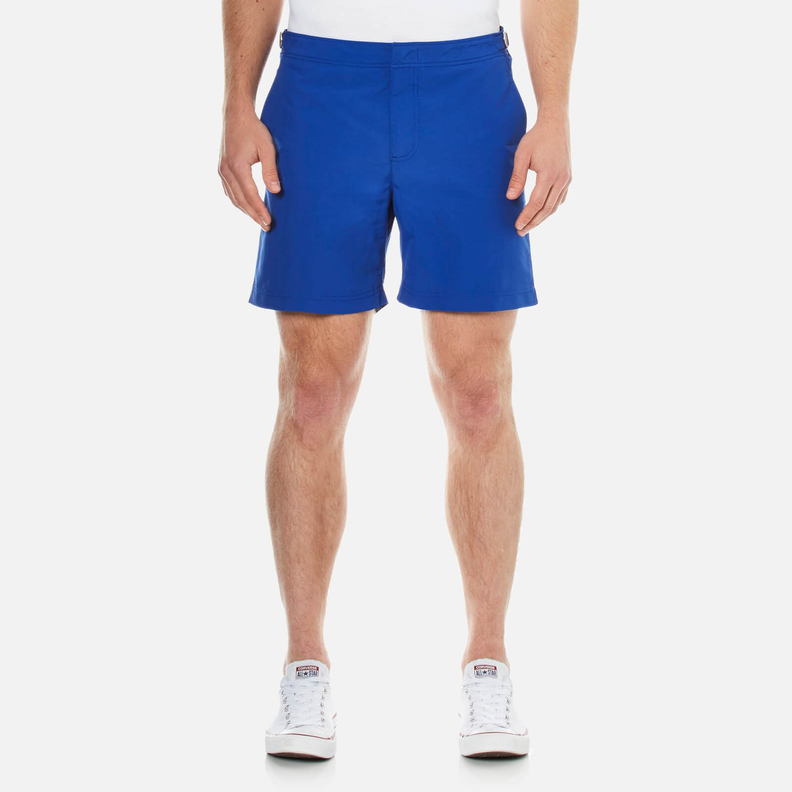 a647cfd1d6c85 Orlebar Brown Men's Mid Length Bulldog Swim Shorts - Cobalt - Free UK  Delivery over £50