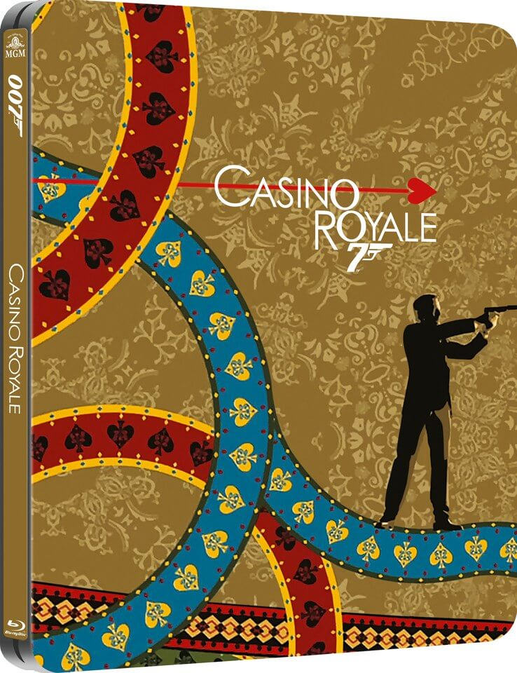 Casino Royale - Zavvi UK Exclusive Limited Edition Steelbook