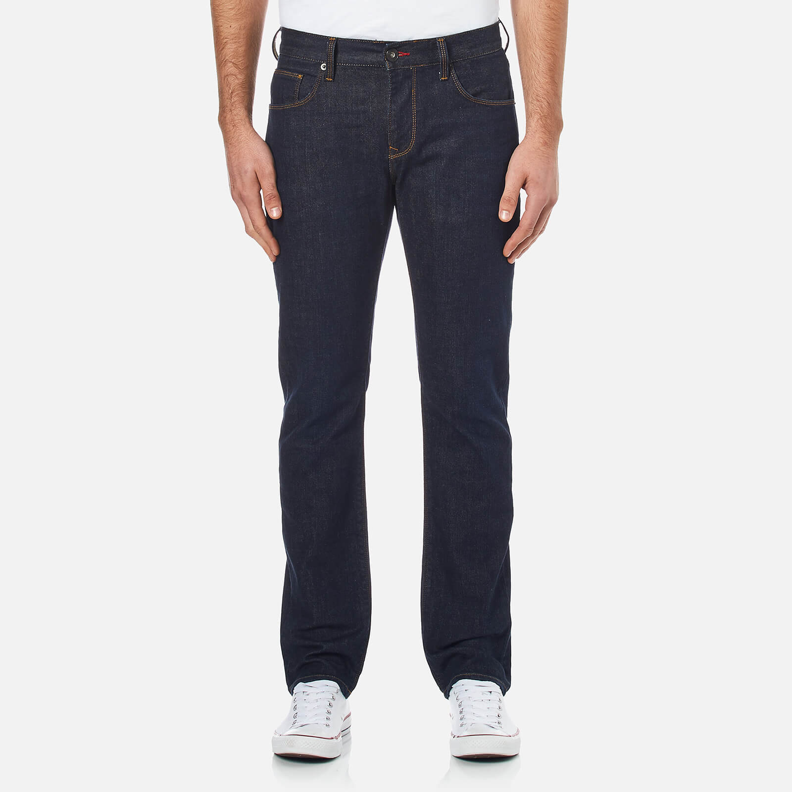 e84bd422c Tommy Hilfiger Men's Denton Straight Leg Denim Jean - Clean Blue Mens  Clothing | TheHut.com