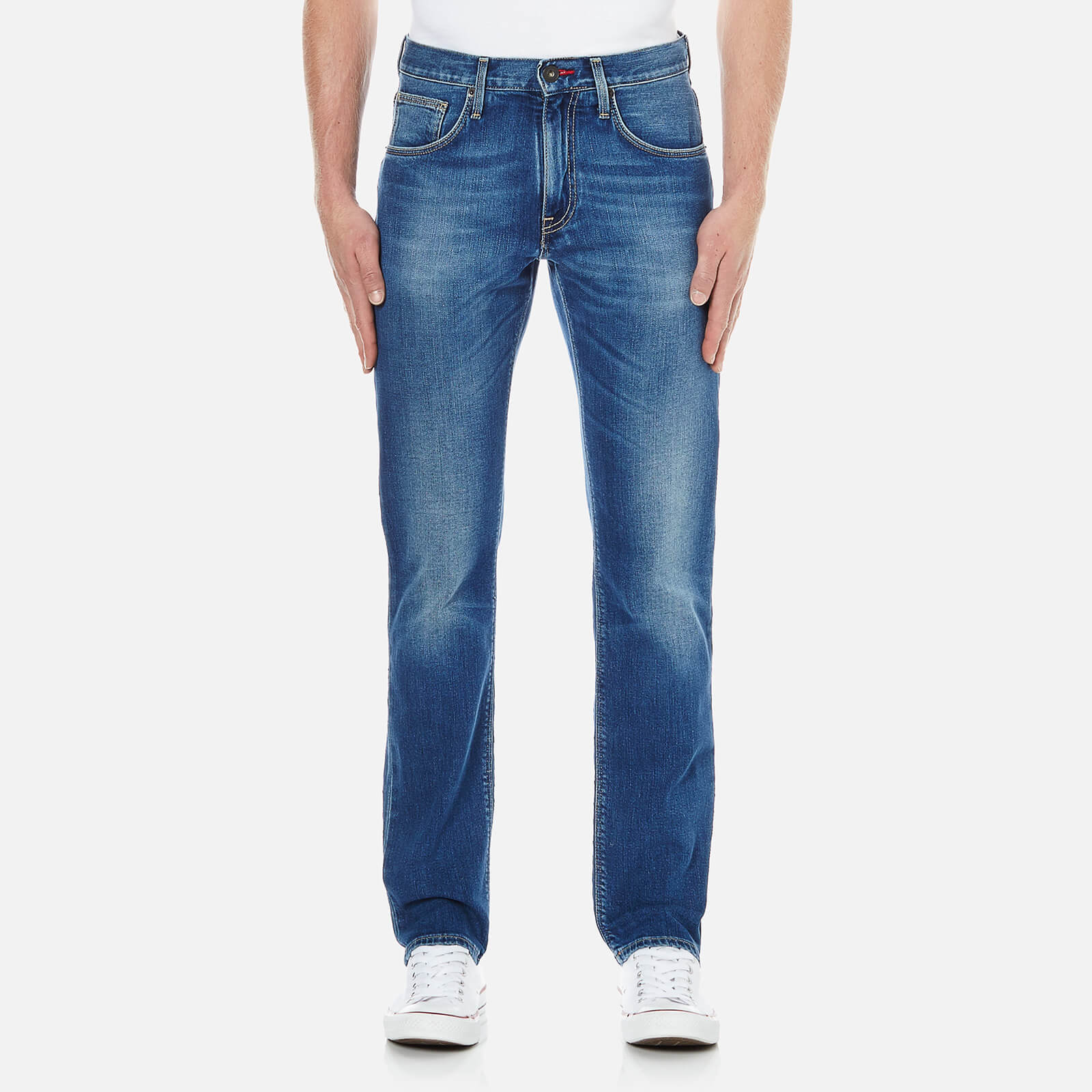 44ef80a2 Tommy Hilfiger Men's Denton Straight Leg Denim Jean - Light Blue Mens  Clothing | TheHut.com