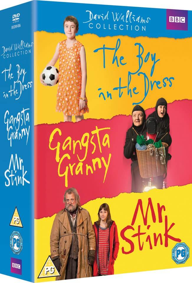 The Boy In The Dress / Mr Stink & Gangsta Granny Box Set