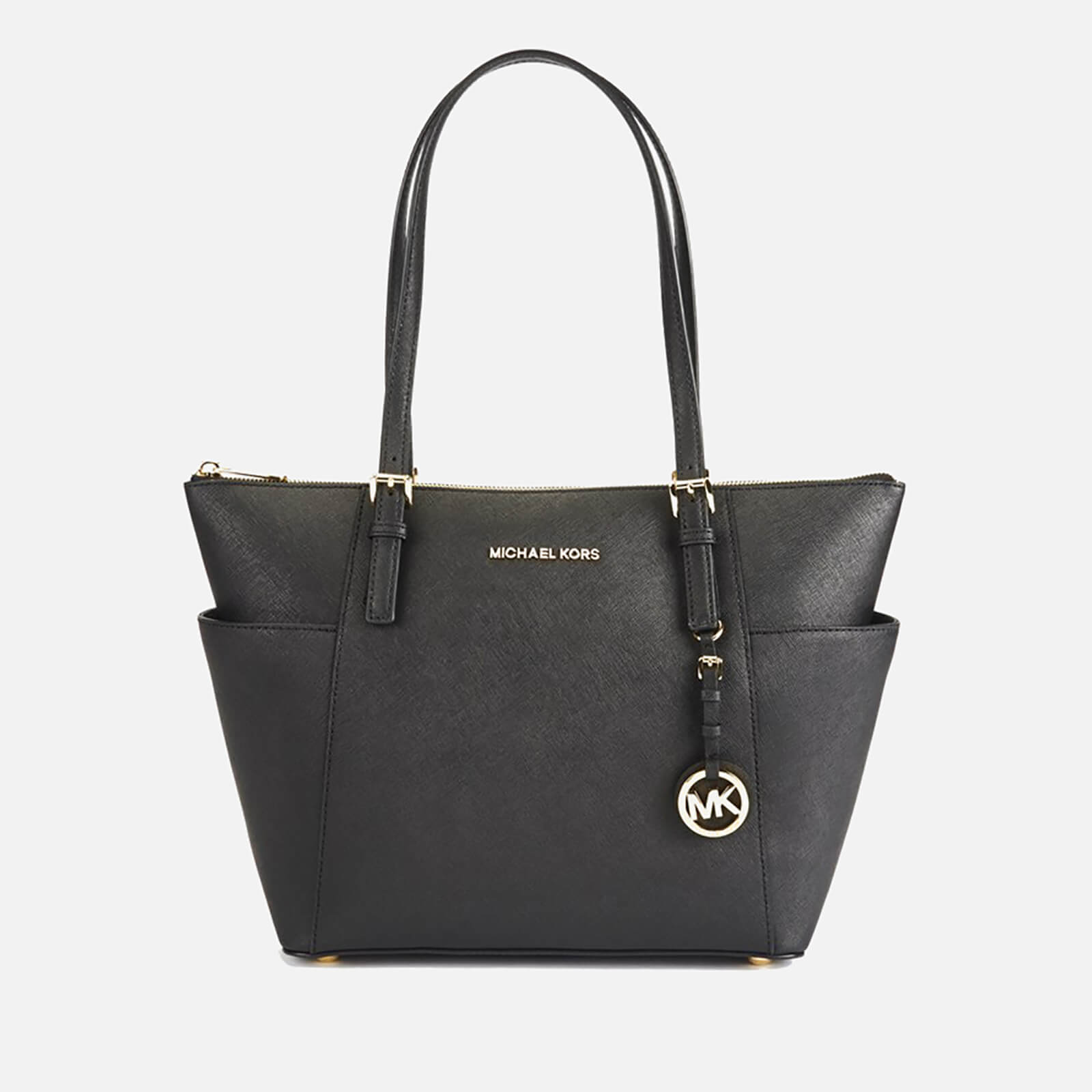 890a294fbe54 MICHAEL MICHAEL KORS Women's Jet Set East West Top Zip Tote Bag - Black -  Free UK Delivery over £50