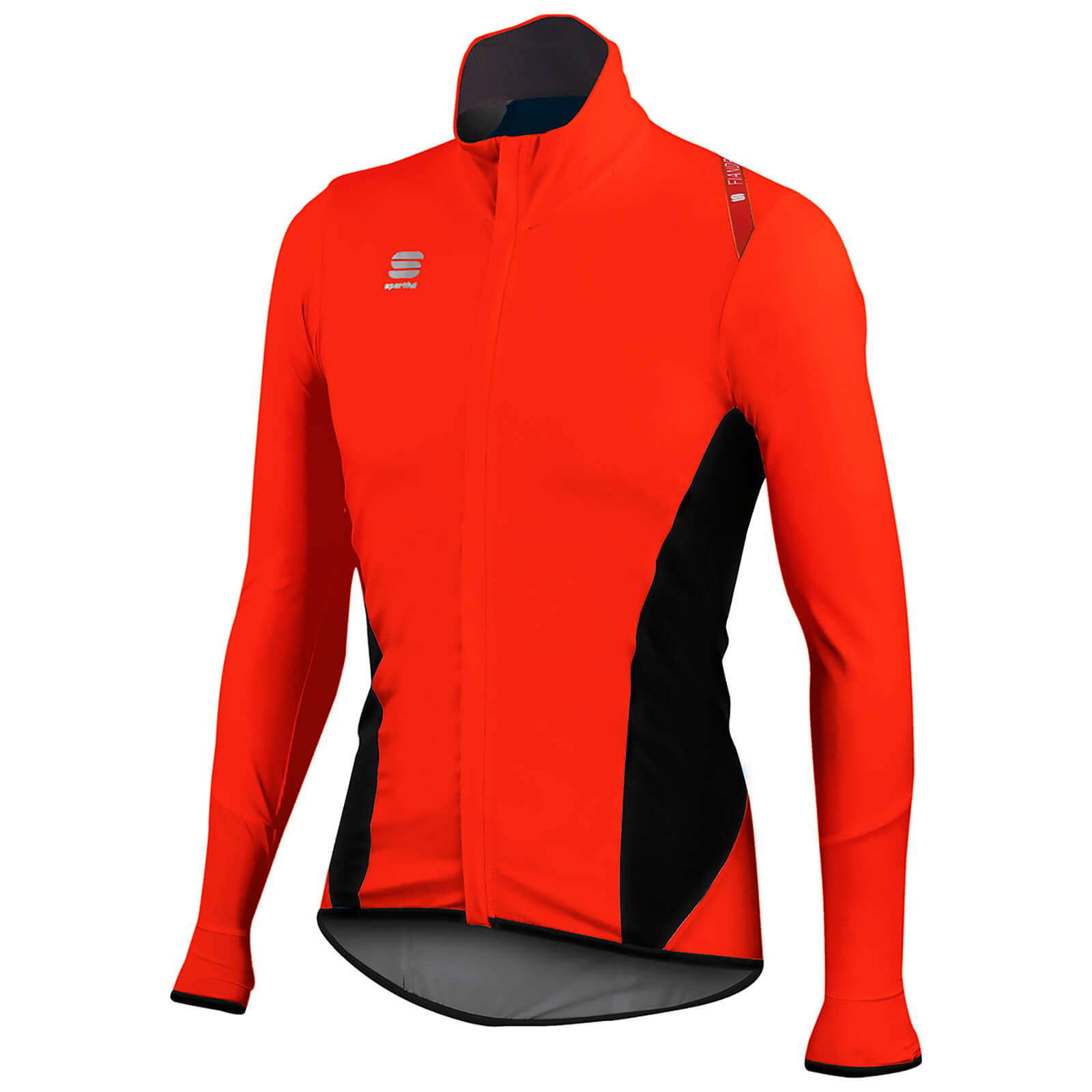 Sportful Fiandre Light NoRain Long Sleeve Jersey - Red/Black