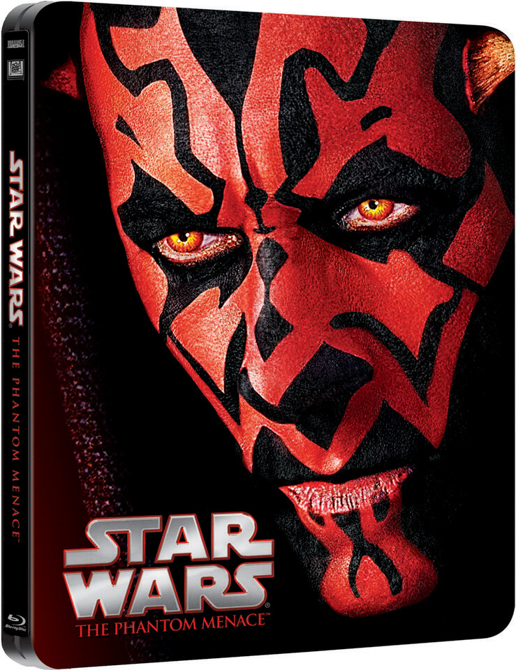 Star Wars Episode I: The Phantom Menace - Limited Edition Steelbook (UK EDITION)
