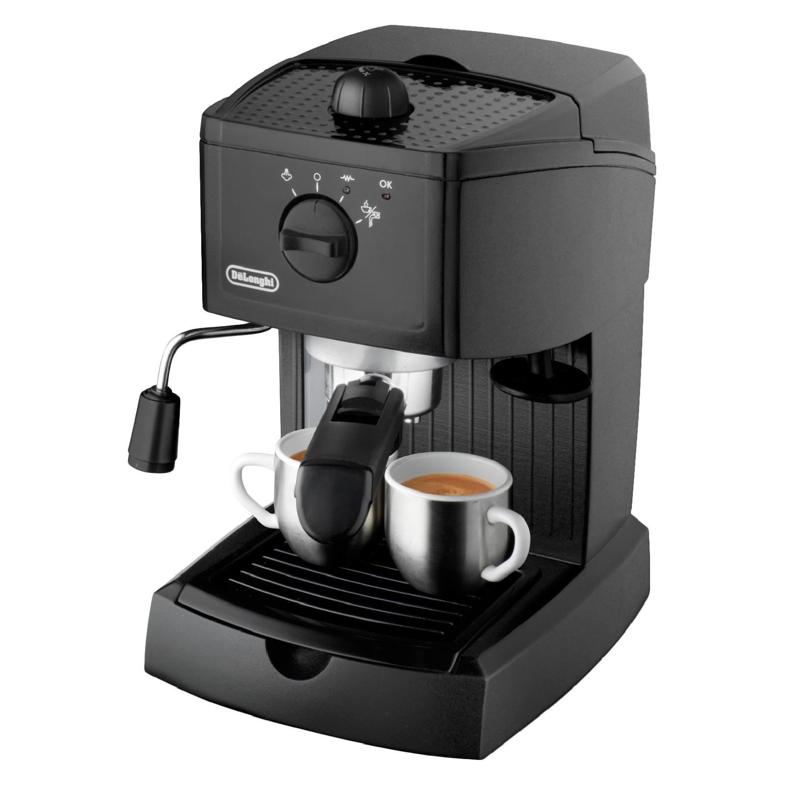 De 39 longhi ec146 espresso coffee machine black iwoot for Stufa catalitica de longhi