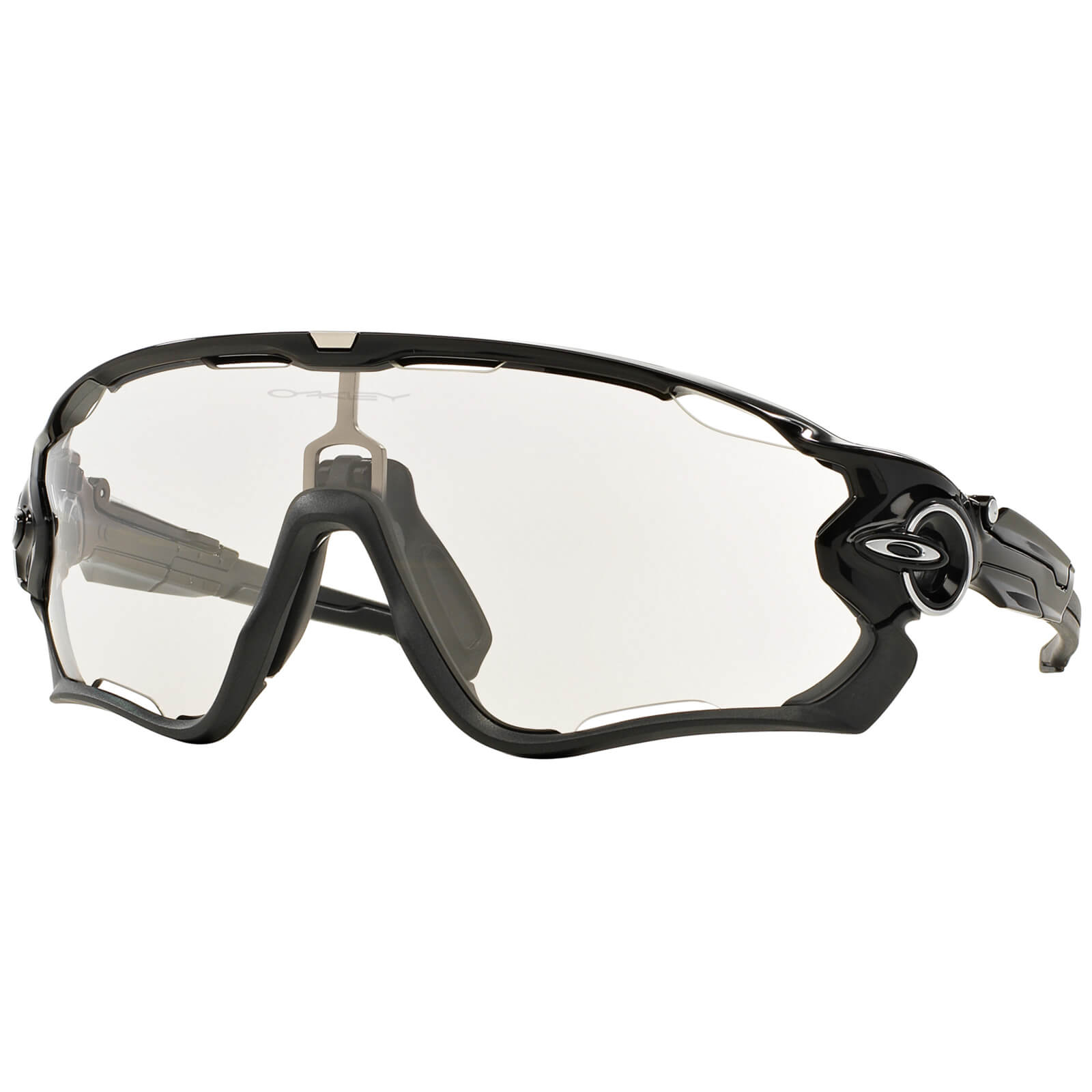 d68c067f07a Oakley Jawbreaker Photochromic Sunglasses - Polished Black Clear Black