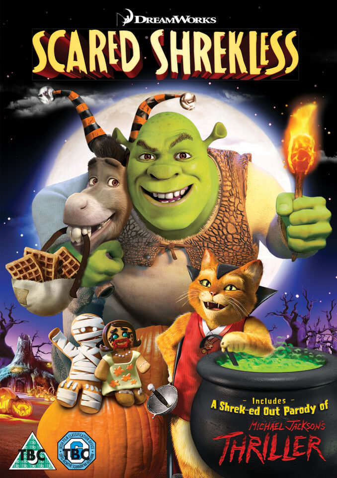Scared Shrekless: Spooky Story Collection