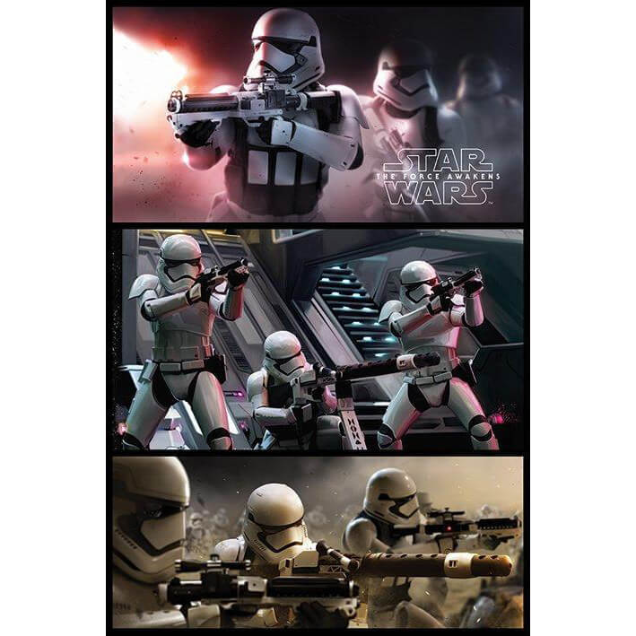 Star Wars Episode 7 Storm Trooper Panels