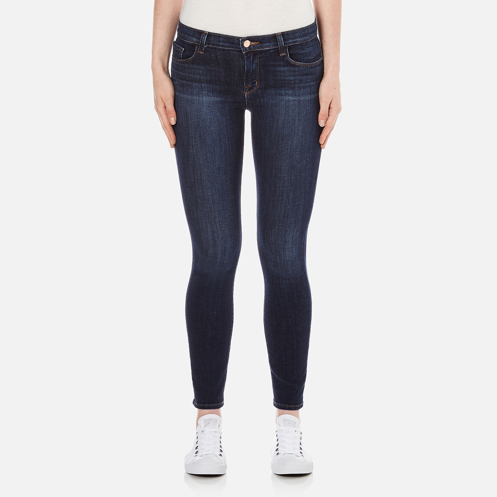 4faeeb1b765e J Brand Women's 811 Mid Rise Skinny Jeans - Oblivion - Free UK Delivery  over £50