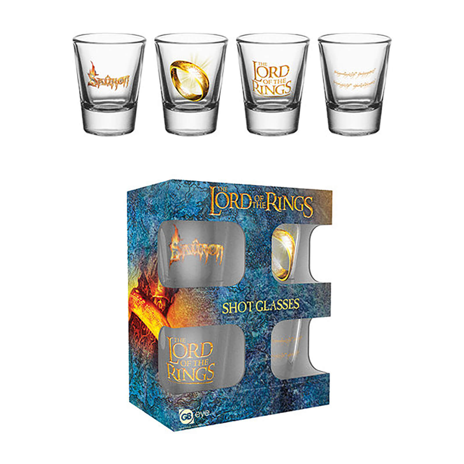 Lord Of The Rings Ring - Shot Glasses
