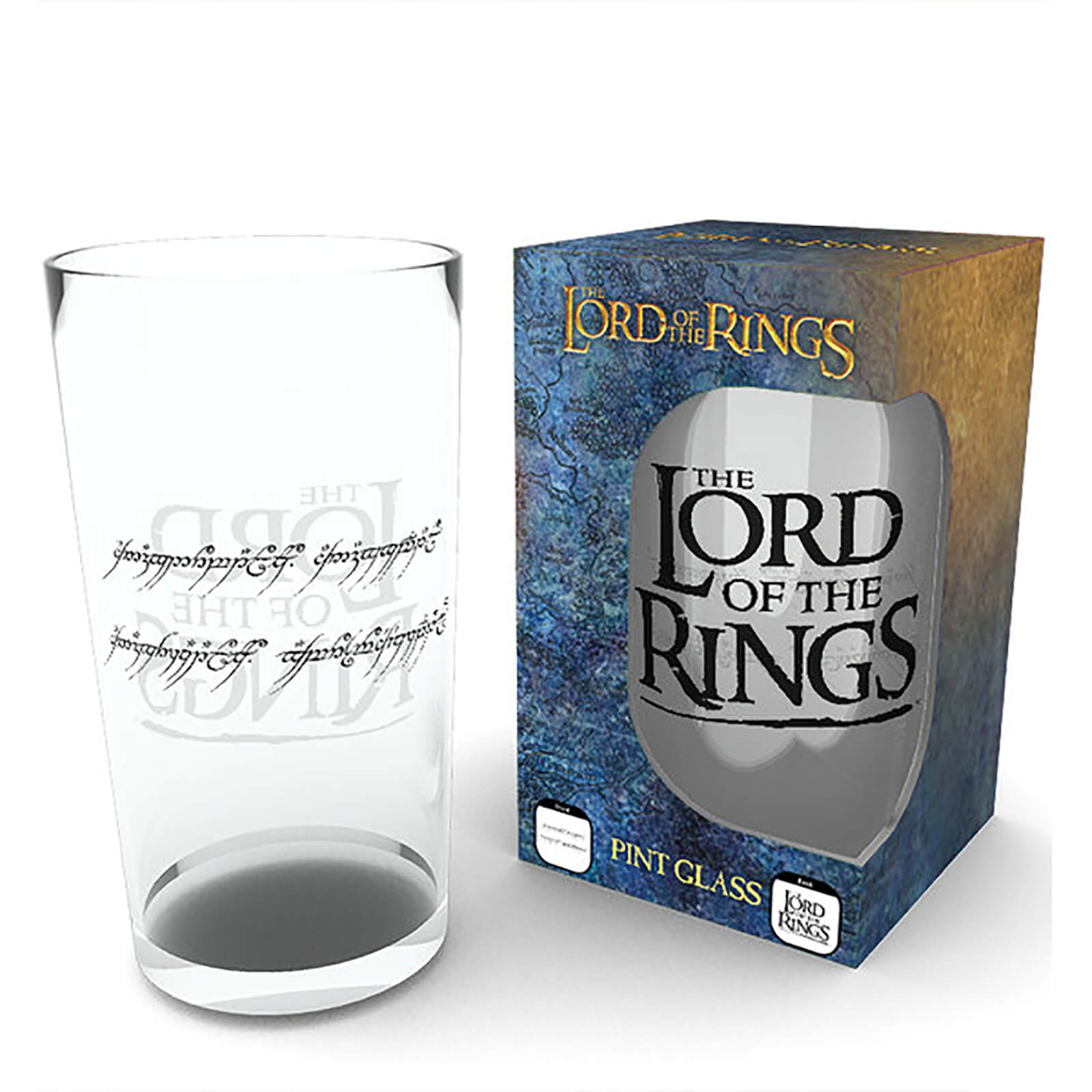Lord Of The Rings Ring - Pint Glass
