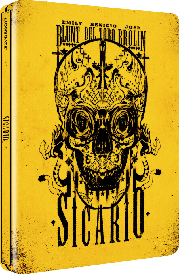 Sicario - Limited Edtion Steelbook (UK EDITION)