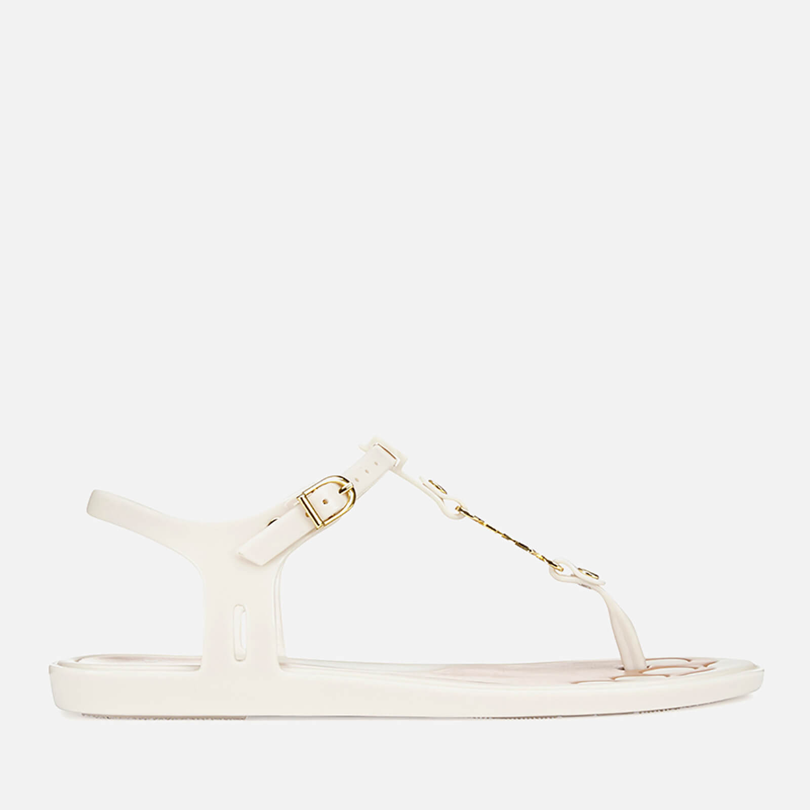 08961acf03fa54 Vivienne Westwood For Melissa Women s Solar 21 Toe Post Sandals - White  Contrast - Free UK Delivery over £50
