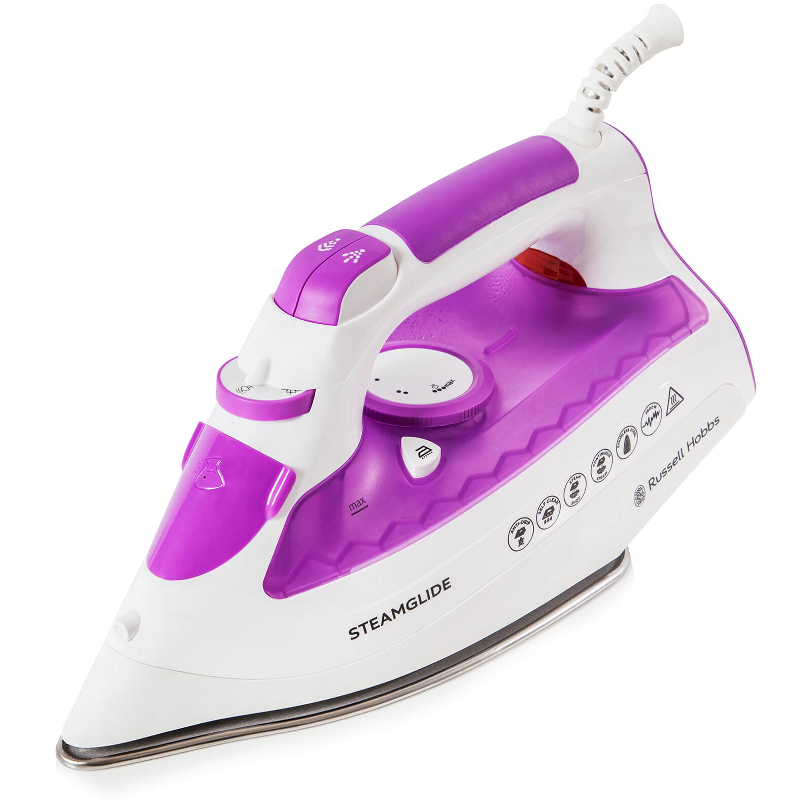 Russell Hobbs 21360NO Steamglide Steam Iron - White