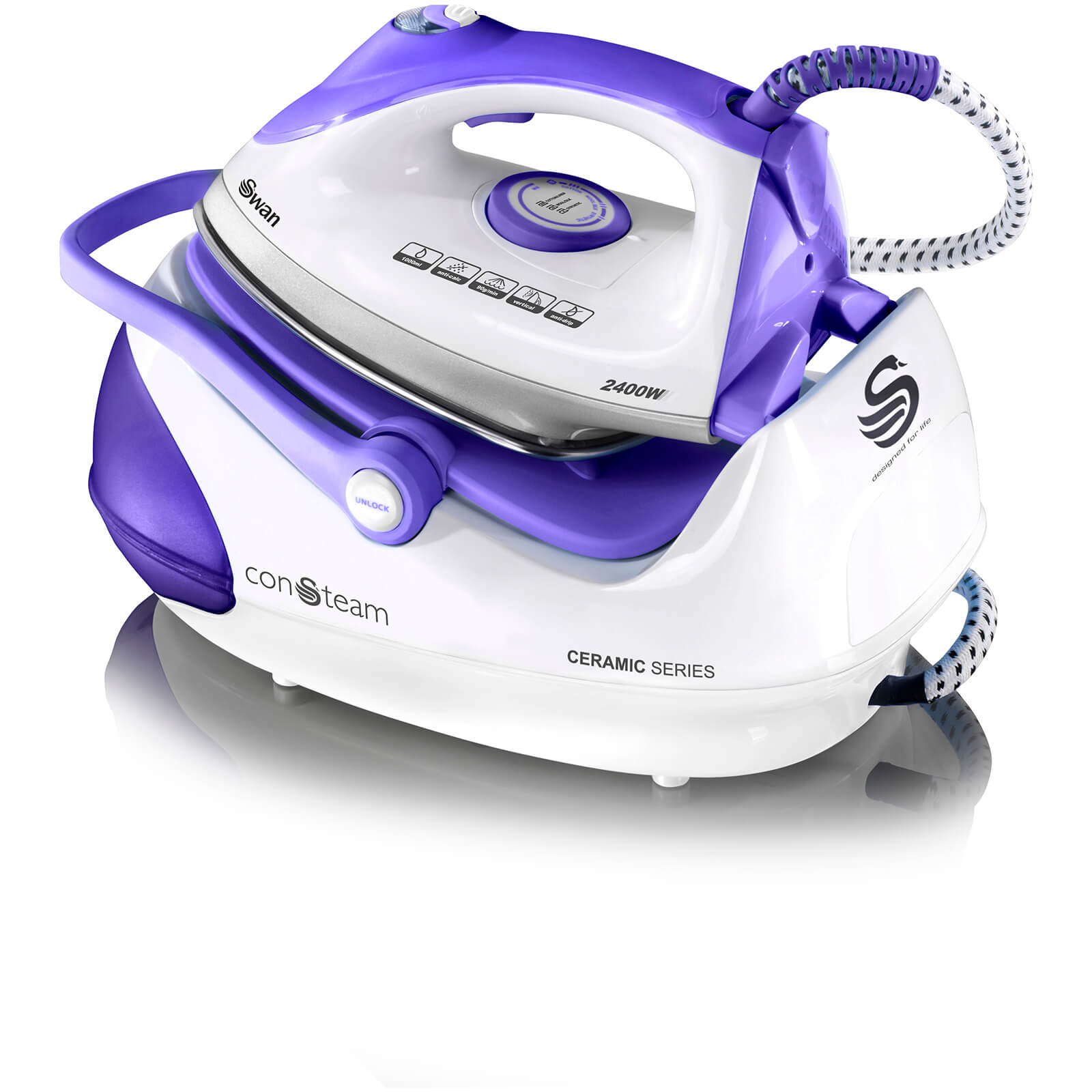 Swan SI9030N Automatic Steam Generator Iron - Purple