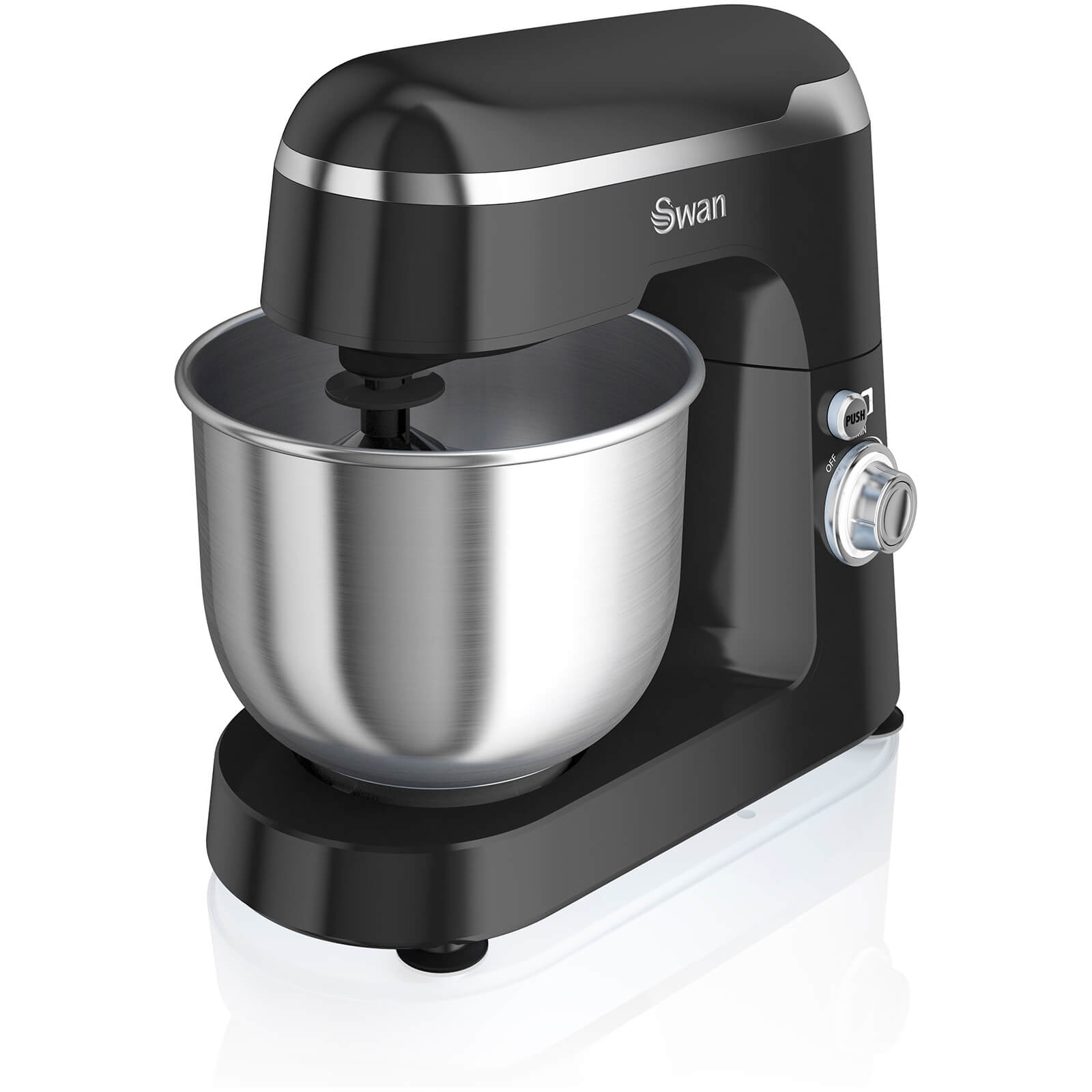 Swan SP25010BN Retro Stand Mixer - Black