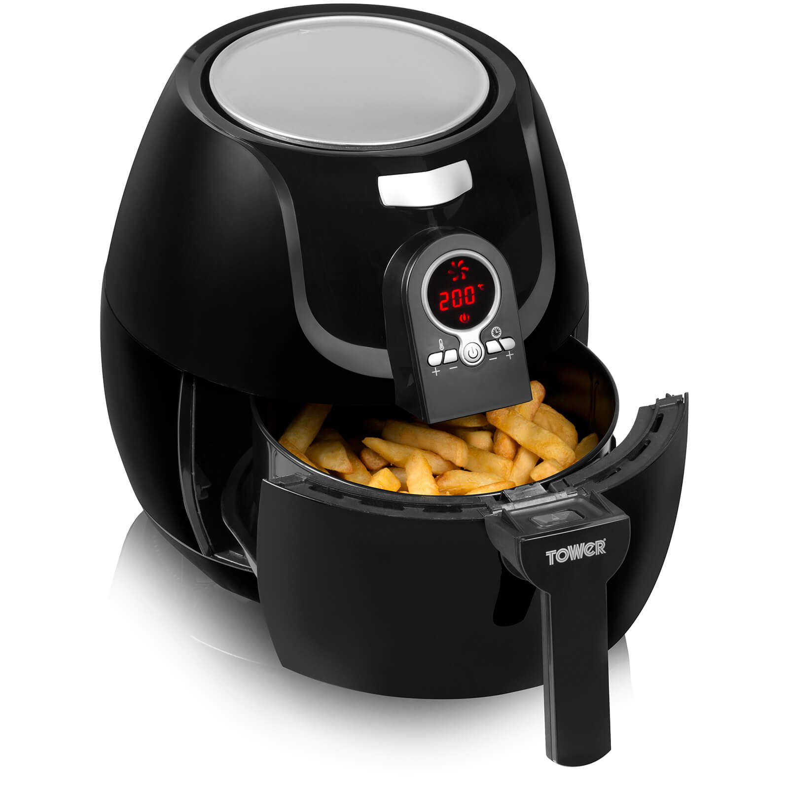 Tower T14004 Low Fat Air Fryer - Black