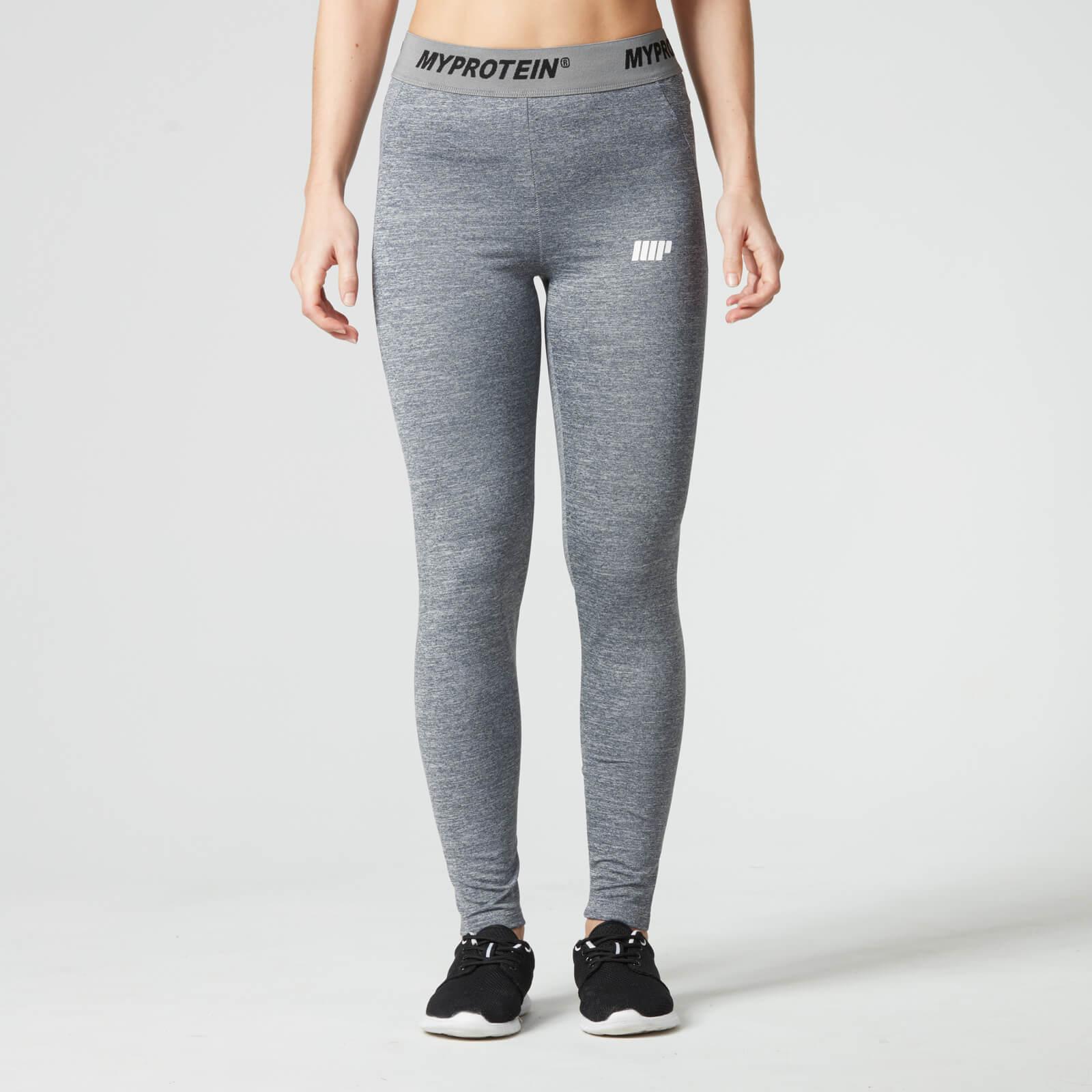 Fitness Leggings South Africa: Myprotein Women's Core Leggings - Grey Marl