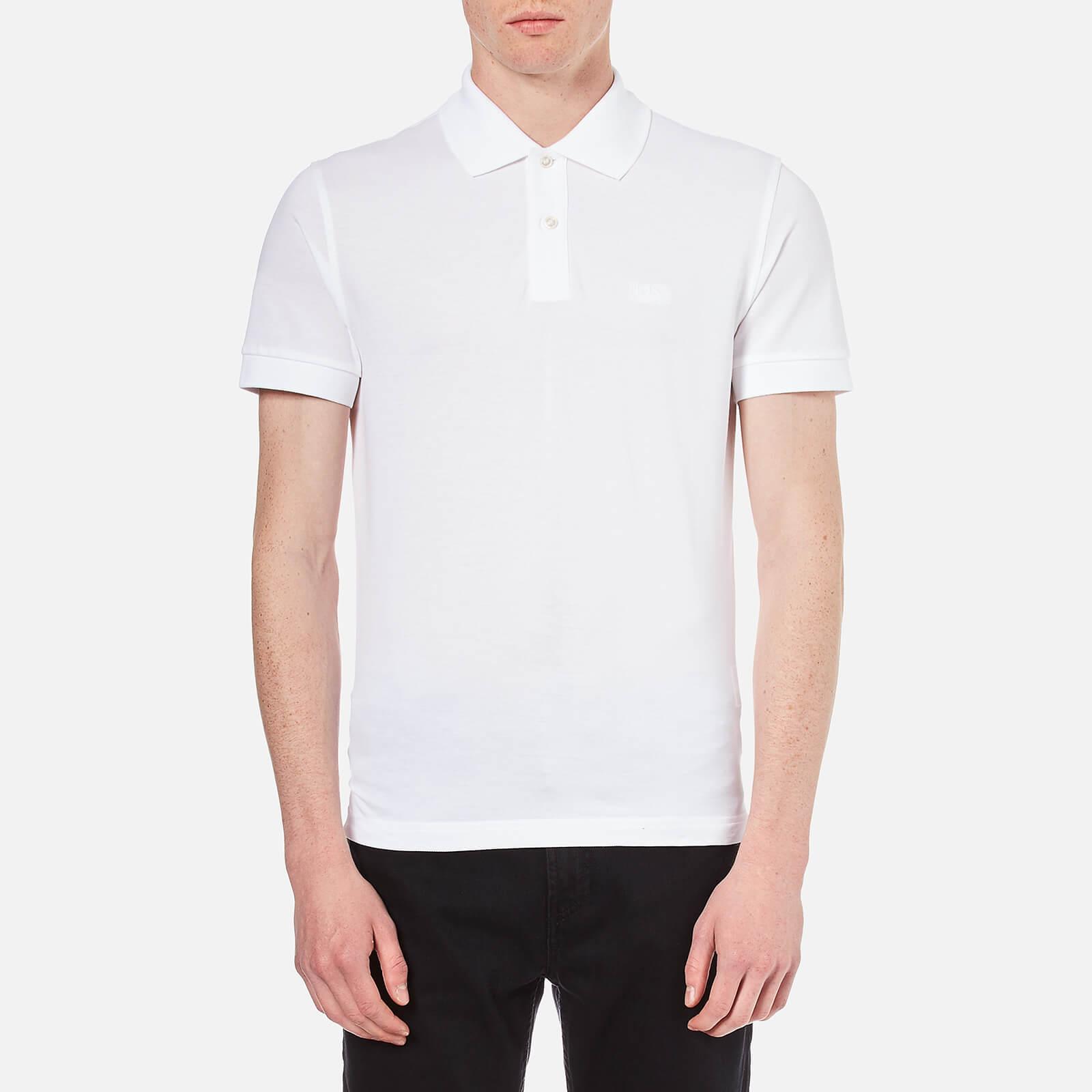 7227285c BOSS Green Men's C-Firenze-Logo Polo Shirt - White - Free UK Delivery over  £50