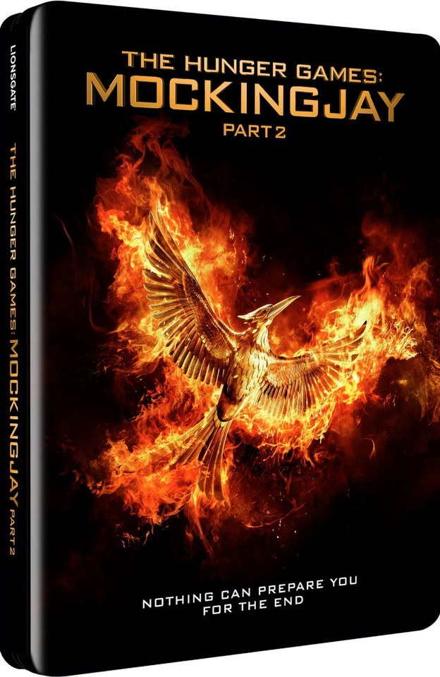 The Hunger Games: Mockingjay Part 2 - Steelbook Edition (UK EDITION)