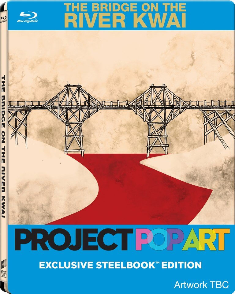 The Bridge On The River Kwai – Project Pop Art Zavvi Exc. Steelbook (UK EDITION)