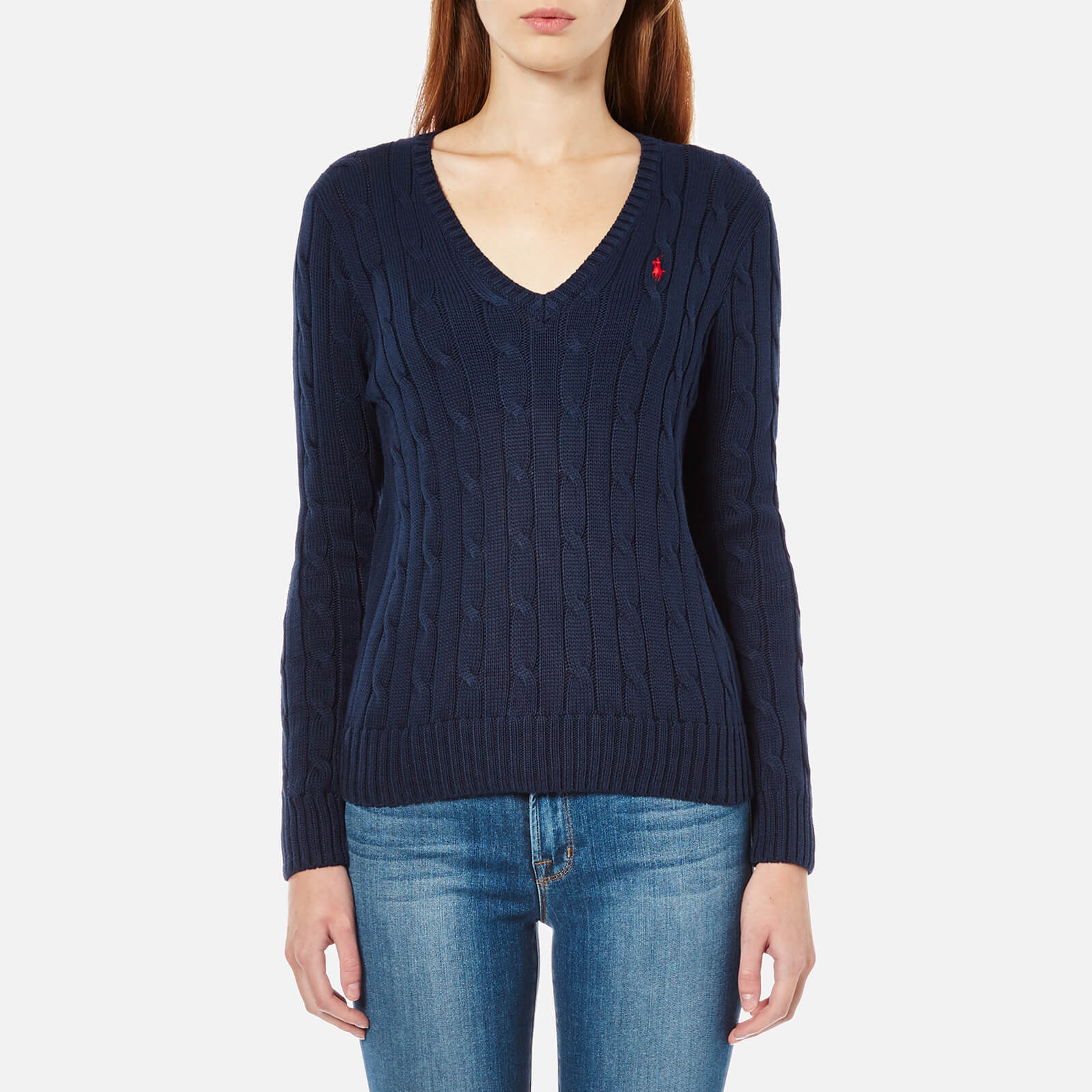 8a6b601e8 Polo Ralph Lauren Women s Kimberly Jumper - Hunter Navy - Free UK Delivery  over £50