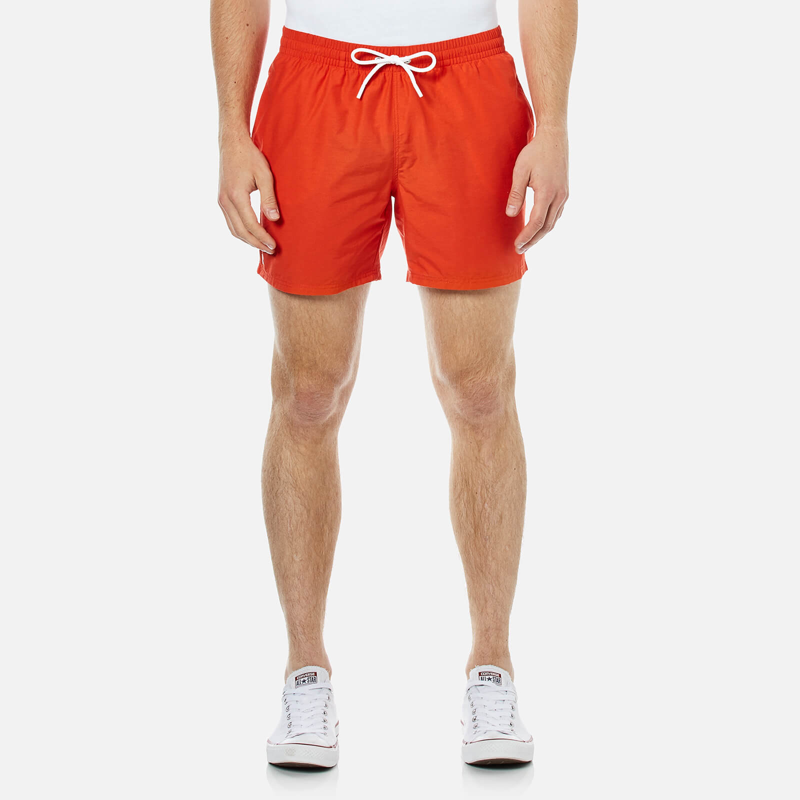 e63b64b2556da Lacoste Men s Classic Swim Shorts - Etna Red - Free UK Delivery over £50